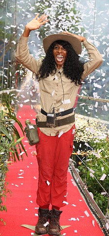 Voted off I'm A Celeb: Sinitta was the second star to leave the I'm A Celebrity jungle on Friday
