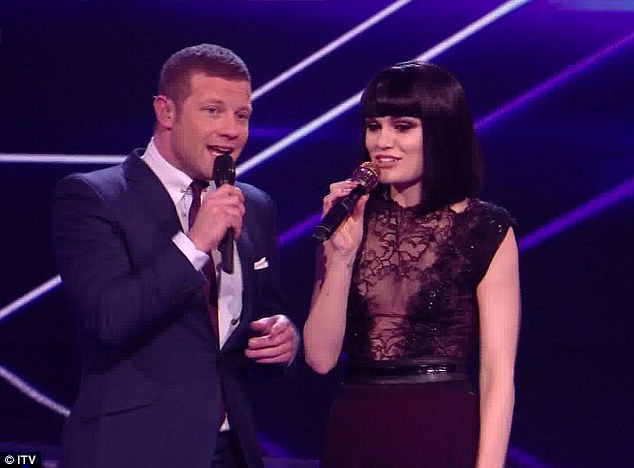 Supporting Little Mix: Jessie J didn't hold back when Dermot asked her who she wants to win