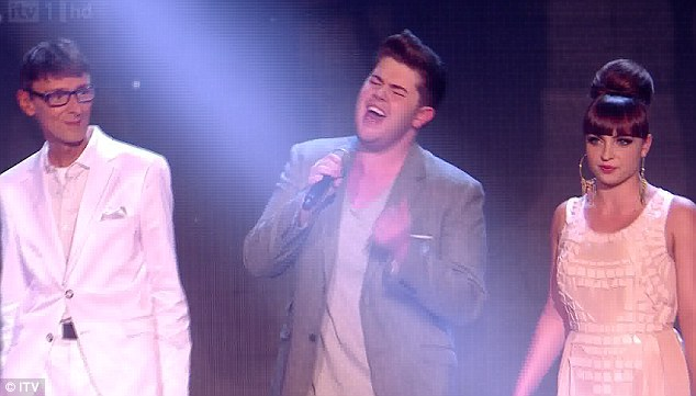 welcome back! Johnny Robinson, Craig Colton and Sophie Habibis returned to sing the charity single