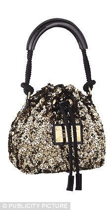 SLOUCHY BAG  Sequin, £1,460, Louis Vuitton,