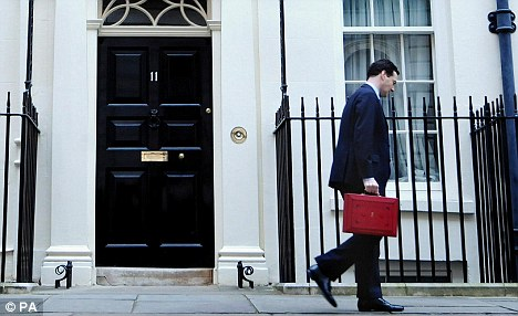 Time for action: Chancellor George Osborne's Autumn Statement gives him a chance to get the economy moving again