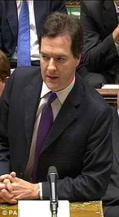 Mr Osborne gabbled through a forecast laden with doom, before reciting a list of tinkering initiatives