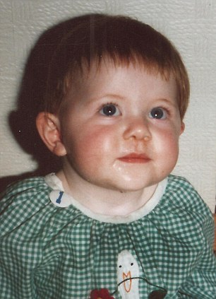 Daughter: Naomi Moray, aged two, shortly before she was snatched