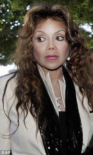 Latoya Jackson arrives at a Los Angeles Courthouse in downtown Los Angeles on Tuesday, Jan 4, 2011