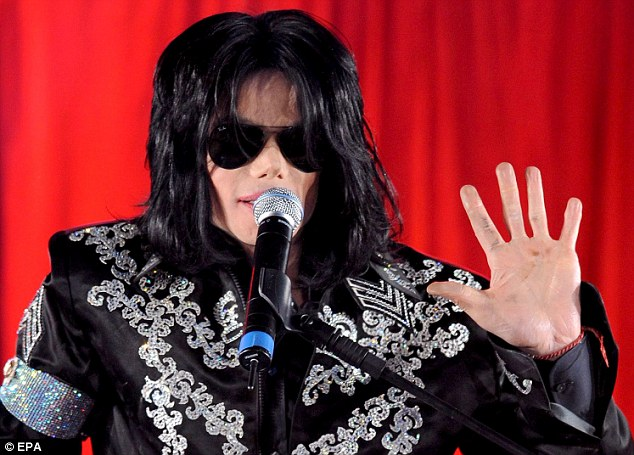 Michael Jackson in March 2009, announcing his arena tour. Just three months later, the singer was dead from an overdose of the powerful anesthetic propofol