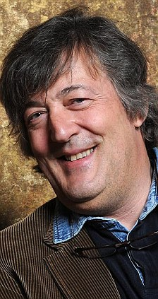 On the attack: Stephen Fry also laid into the show