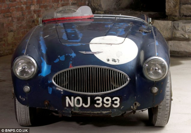 The current owner of the car - registration NOJ 393 - bought it for £155 in 1969