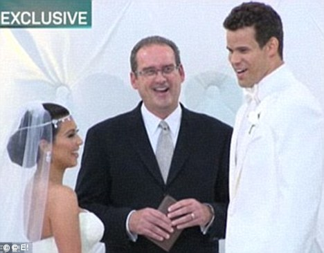 Reality TV romance: The pair married in a ceremony which was filmed for the E! network