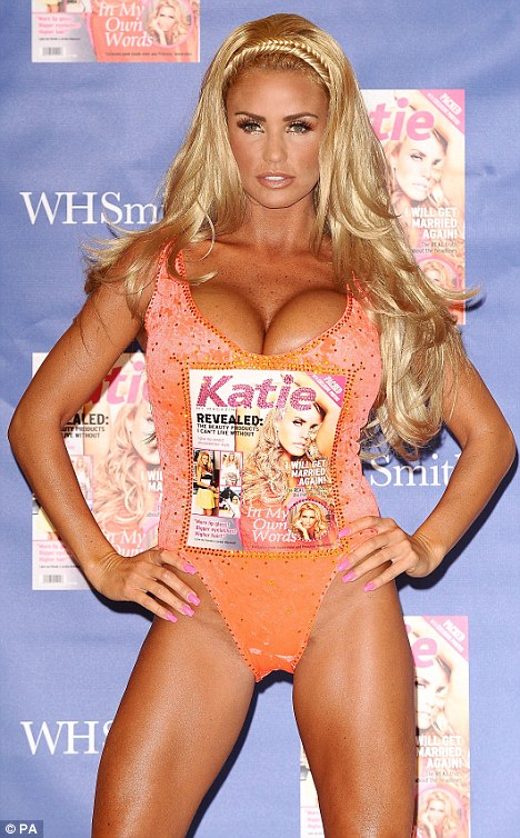 The glamour model and author Katie Price was the fourth most popular internet search, behind the National Lottery and jobcentre