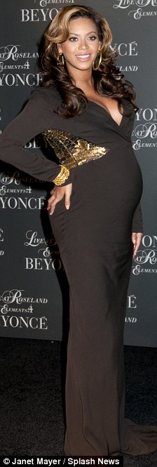 Style icon: Beyonce shows pregnant women how to dress up and dress down as their bumps grow