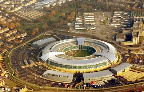 Spy games: Players who crack the code are directed to the website for the GCHQ (pictured) and invited to apply for a job