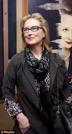 Role: The actress is playing the Iron Lady, Margaret Thatcher