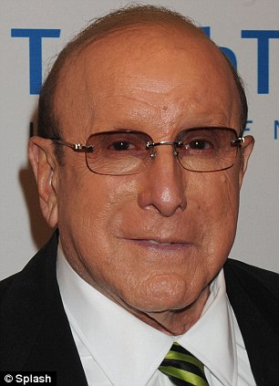 Music man: Clive Davis attended the Esquire Apartment Benefit Event Hosted by City of Hope in Brooklyn yesterday