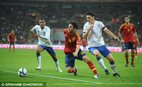 Date with destiny: England could face Spain the quarter-finals