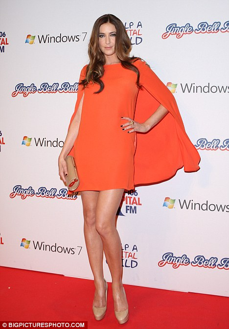 Brightening things up: Lisa Snowdon hosted the event