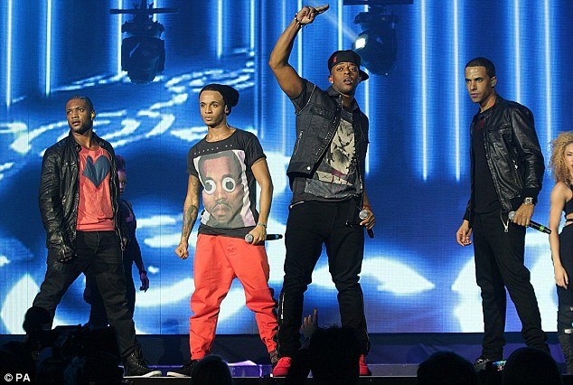 The boys are back in town; JLS - who are the new No.1 with the X Factor finalists - were greeted by screaming fans