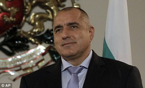 Footballer of the year? Bulgarian Prime Minister Boyko Borisov says he was named as a protest vote