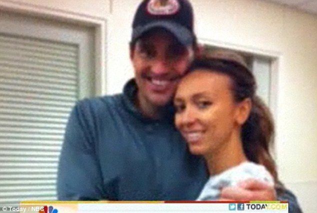 Family on hold: The couple will wait until Giuliana has recovered before embarking on IVF again
