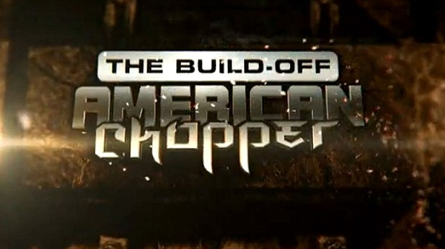 He's back: James will makes a guest appearance on the special American Chopper: The Build-off airing tonight on the Discovery Channel