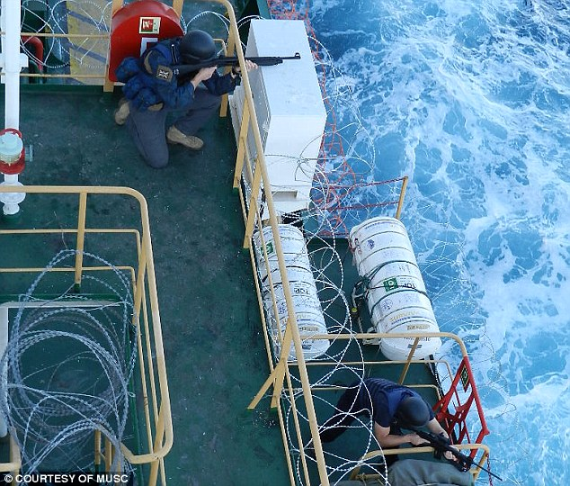 'The pirates have made it pretty clear that the consequences for any guards they capture will be dire,' said Nick Day, a former Special Boat Service (SBS) officer and CEO of Diligence