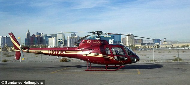 Downed: A Sundance Helicopter, similar to this one, crashed during a pleasure flight in the mountains outside of Las Vegas