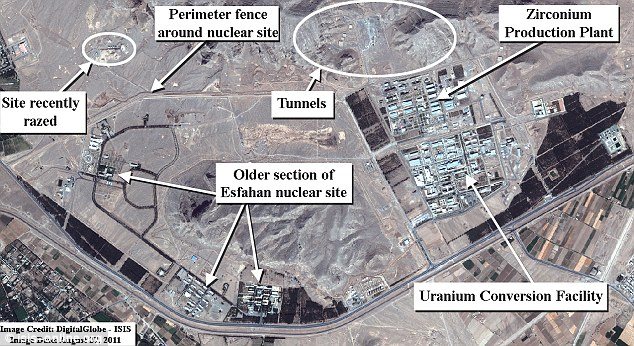 Isfahan nuclear site number 2