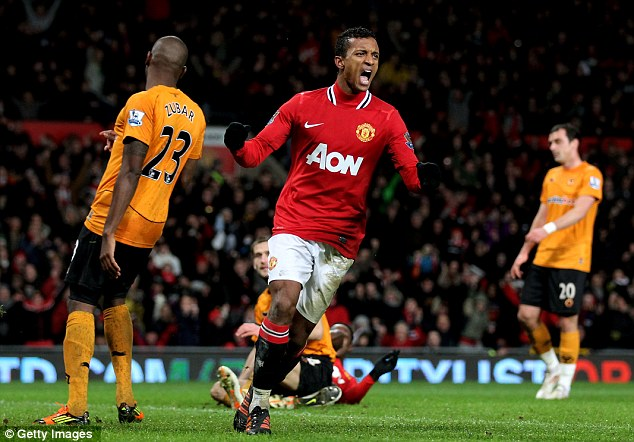 Brace yourself: Nani hit two as United returned to winning ways