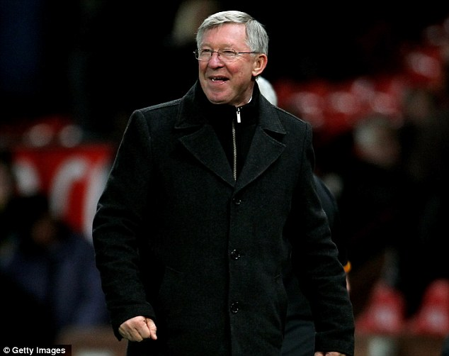 All smiles: Sir Alex Ferguson was a happy man after his side beat Wolves