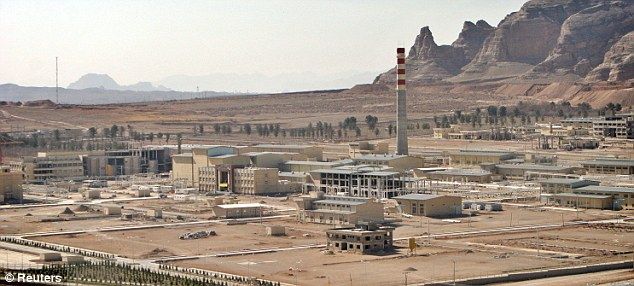 A uranium processing facility at the Isfahan nuclear site is seen here in March 2005