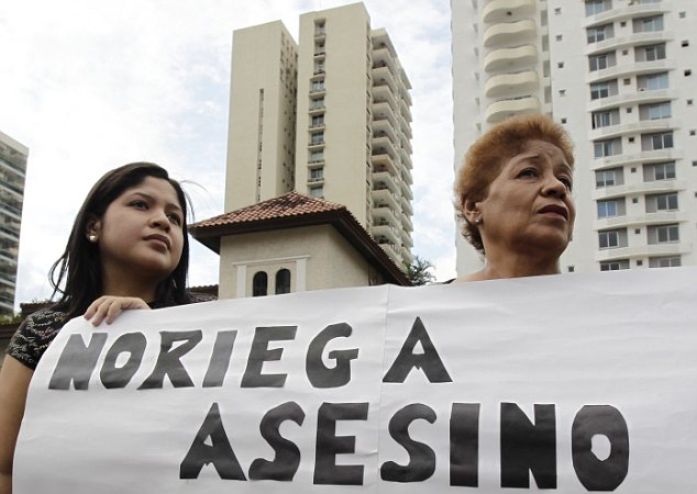 Panama's anger: Noriega's extradition back to Panama is welcomed news for many of the families who lost loved ones due to his regime