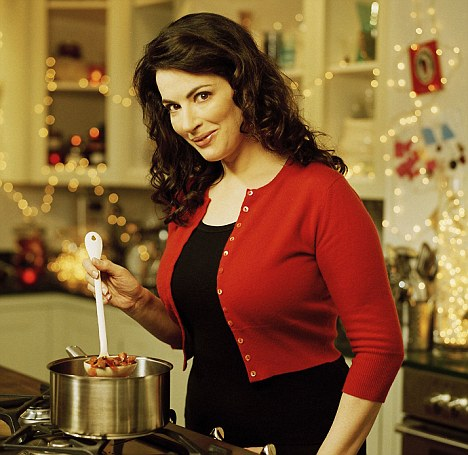 Not what it seems: Nigella has promoted the art of cooking as seductive