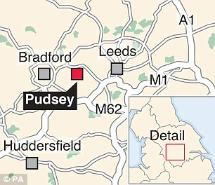The bodies were discovered at a property near the centre of Pudsey on the outskirts of Leeds