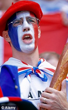 French fan: National pride led to an increase in overall happiness across 31 European nations