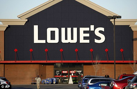 Not alone: Lowe's says it's one of 'dozens' of companies who pulled their advertising since late last month though a list of others hasn't been released