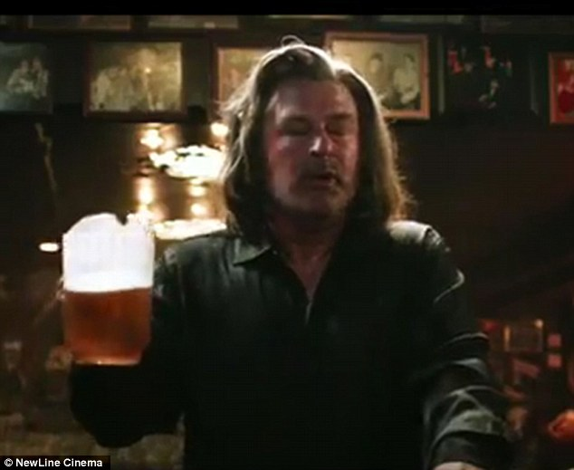Is that Alec Baldwin? The star donned a long-haired wig as he played Bourbon Room owner Dennis Dupree