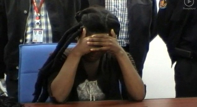 Drug mule: The South African woman was only paid £1,200 to smuggle the cocaine, which had a street value of £93,000