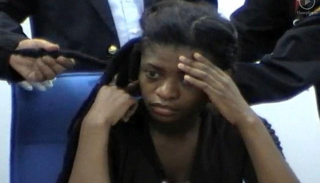 Arrested: South African Nobanda Nolubabalo held at customs in Bangkok