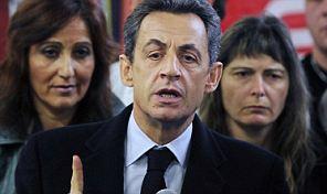 France's President Nicolas Sarkozy