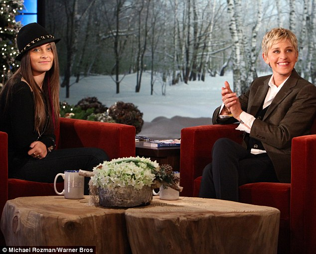 Growing up fast: Paris Jackson discussed her late father Michael's decision to make her siblings wear masks on The Ellen DeGeneres Show