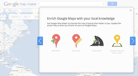 Google's new version of Map Maker will allow users to 'enrich' the map with their own edits - although Google insists that its business relationship with TeleAtlas, who provide the underlying data in the maps, will not change