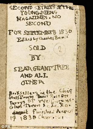 Close-up: The manuscript was expected to sell for between £200,000 and £300,000 at the auction