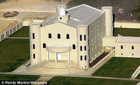 Spiritual home: The temple of the Fundamentalist Church of Jesus Christ of Latter-Day Saints in Eldorado, Texas