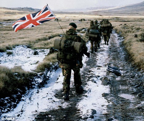 Old wounds: Argentina is still eyeing the Falklands