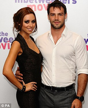Happy news: Una and sportsman Ben are expecting a little girl