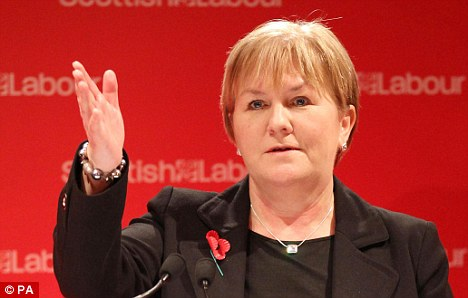 Johann Lamont won the election after picking up 51 per cent of the votes, defeating her two rivals in the first round of the election