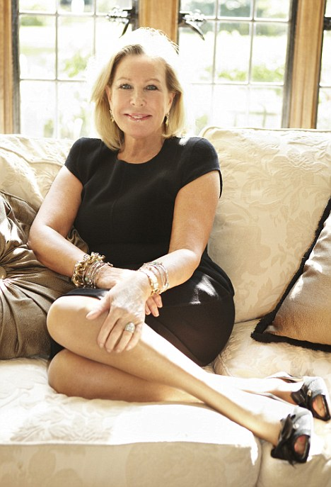 Feet first: French Sole founder Jane Winkworth, whose shoes are popular with the royals