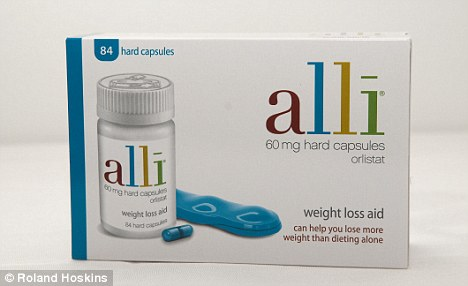 Appetite suppressant: But drugs like Alli can also cause side effects such as diarrhoea and even incontinence