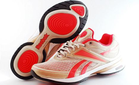Easy toning: Reebok's walking shoe that claims to improve muscle tone