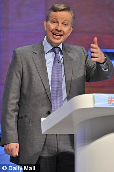 Shake-up: A review ordered by Education Secretary Michael Gove (above) says children should be made to study history and geography to improve standards