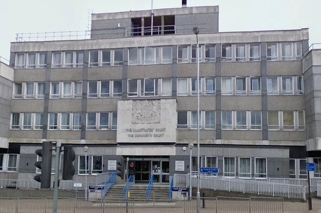 Fined: Patel was told to pay £16,000 by Croydon Magistrates' Court, pictured, because of his rubbish heap
